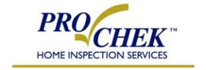 ProChek Home Inspection Services logo