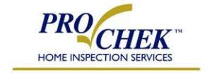 ProChek Home Inspection Services logo